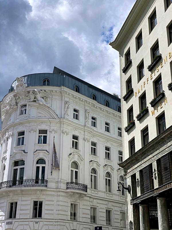 Gebäudefassaden in Österreich