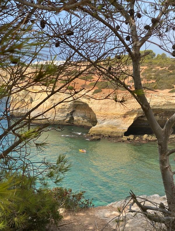 Portugal Algarve Meer und Steilküste