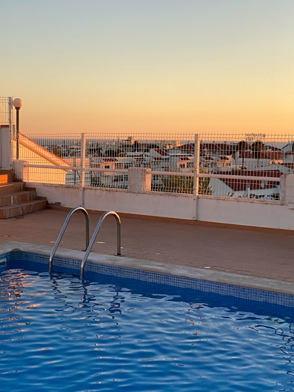 Albufeira Pool auf Dach