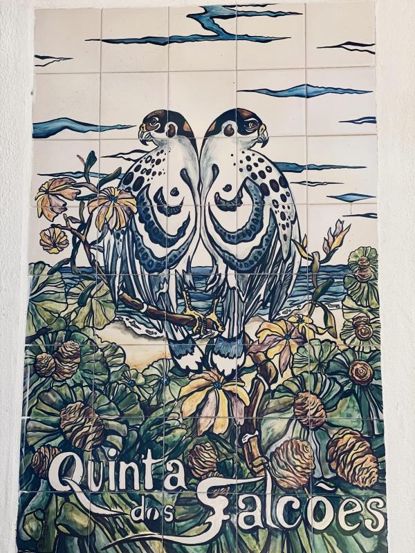 Quinta dos falcoes Schild