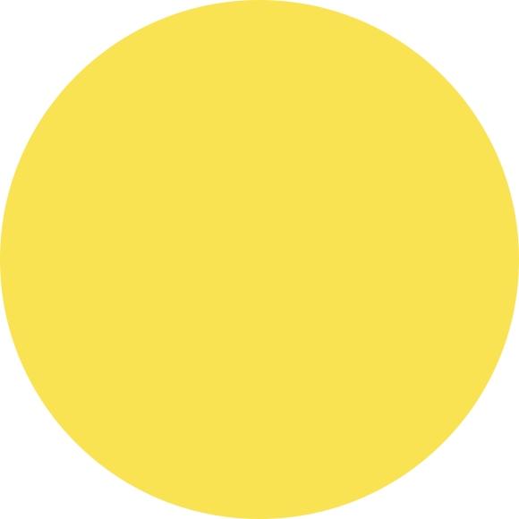 strahlendes Sonnengelb - Trendfarben 2022