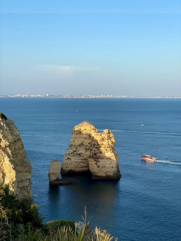 Portugal Fels im Meer Albufeira