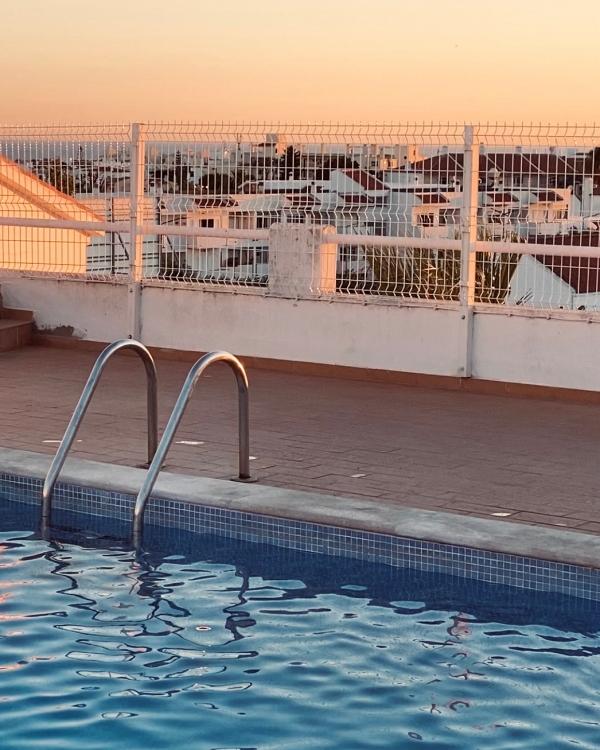 Pool auf Dach Portugal